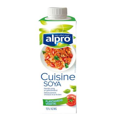 Kookroom aanbiedingen prijzen van alle supermarkten for Alpro soja cuisine