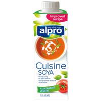 Slagroom kookroom prijzen van alle supermarkten for Alpro soja cuisine