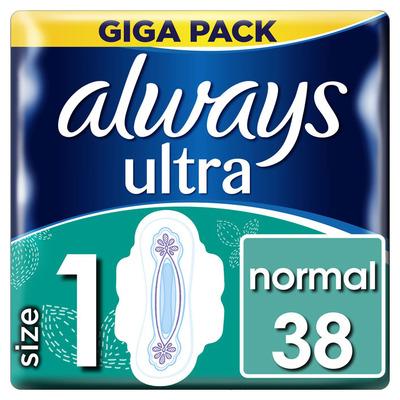 Always Ultra normal maat 1 maandverband vleugel
