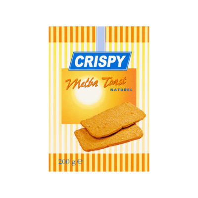 Crispy Melba Toast Naturel