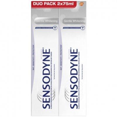 Sensodyne Gentle whitening duo gevoelig tandpasta