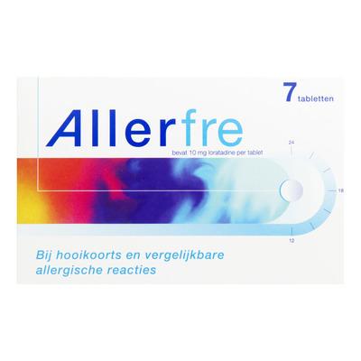 Allerfre Hooikoortstabletten loratadine 10 mg