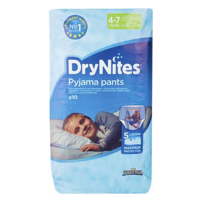 Huggies DryNites luierbroekjes jongen 4-7 jaar