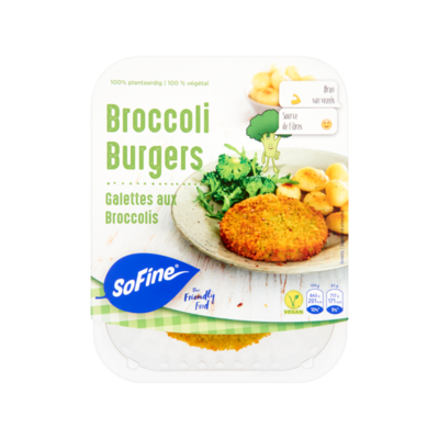 SoFine Broccoli Burgers