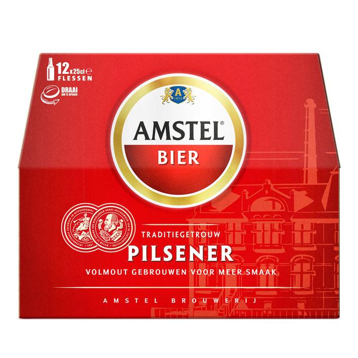 Amstel Pilsener met draaidop