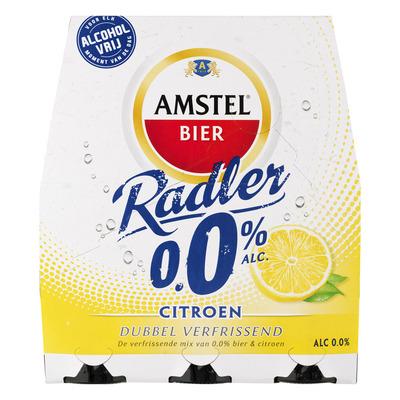 Amstel Radler citroen 0.0%