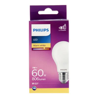 Philips LED bulb 60W E27