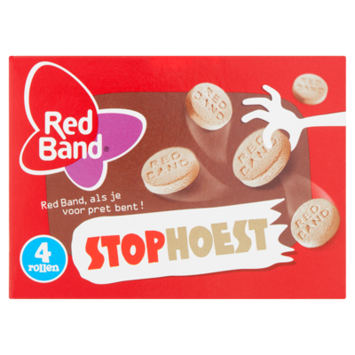 Red Band Stophoest 4-pack