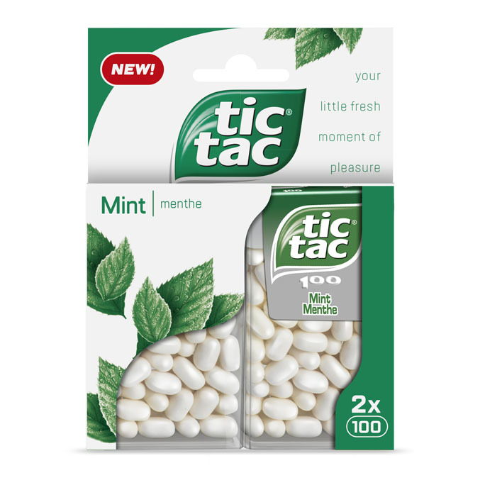 Tic Tac Duo pack mint