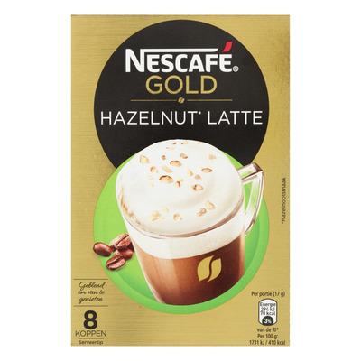 Nescafé Gold hazelnut latte oploskoffie