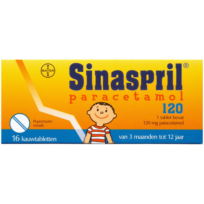 Sinaspril Paracetamol 120 mg
