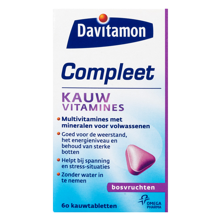 Davitamon Compleet kauwvitamines bosvruchten
