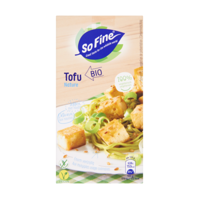 Huismerk Biologische Naturel Tofu