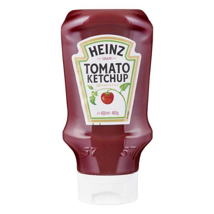 Heinz Tomato ketchup topdown