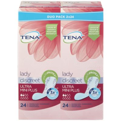Tena Lady Discreet Ultra Mini Plus duopack