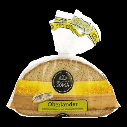 Soma Oberlander tarwe roggebrood