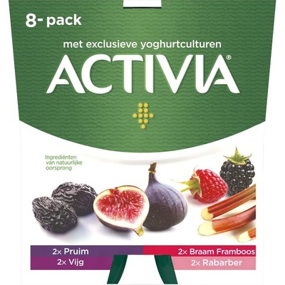 Activia 8-pack Fruit assorti