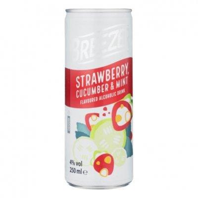 Bacardi Breezer strawberry cucumber mint