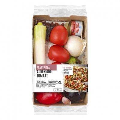 Huismerk Plaatpizza paprika courgette verspakket