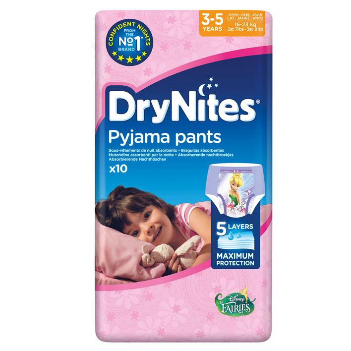 Huggies DryNites luierbroekjes meisjes 3-5 jaar