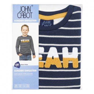 John Cabot Sweat yeah! 134/140