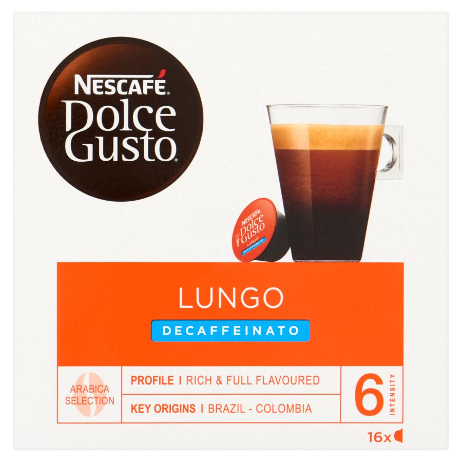 Nescafe Dolce Gusto Cups lungo decaffeinato