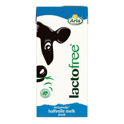 Arla Lactofree halfvolle melk houdbaar