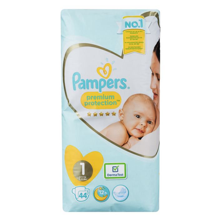 Pampers Premium protection maat 1