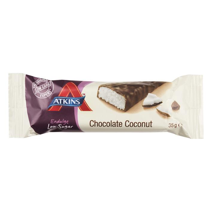 Atkins Endulge reep chocolade-kokos