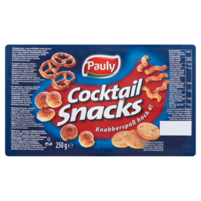 Pauly Cocktail Snacks