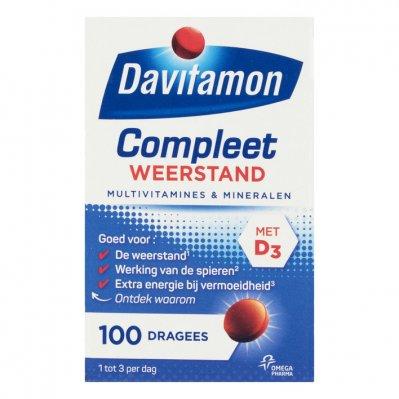 Davitamon Compleet weerstand dragees
