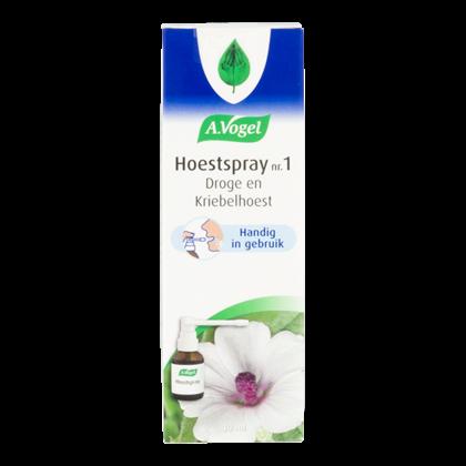 A. Vogel Hoestspray bij droge en kriebelhoest