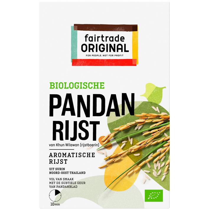 Fairtrade Original Biologische pandan rijst bio