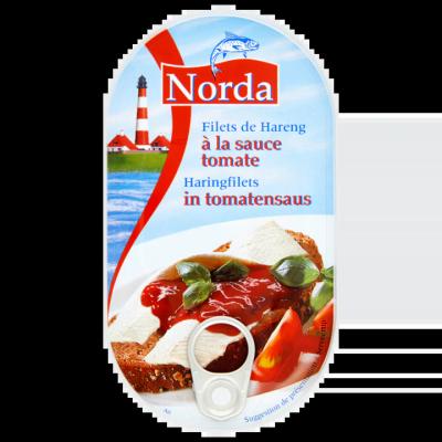Norda Haringfilets in Tomatensaus