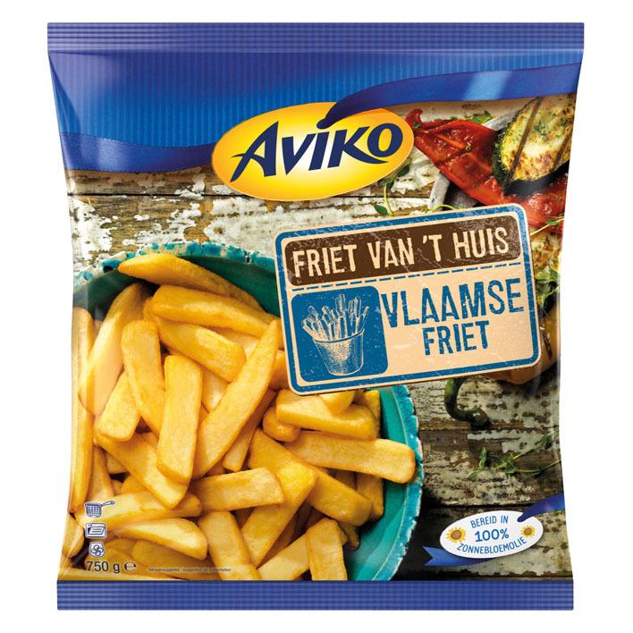 Aviko Friet van 't huis Vlaamse friet