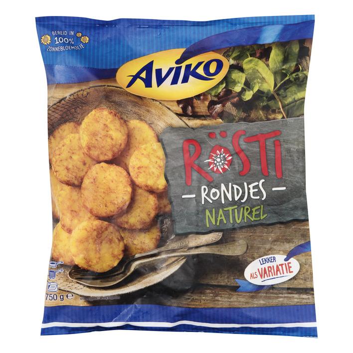 Aviko Rösti rondjes naturel