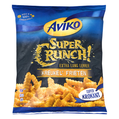 Aviko SuperCrunch kreukel frieten