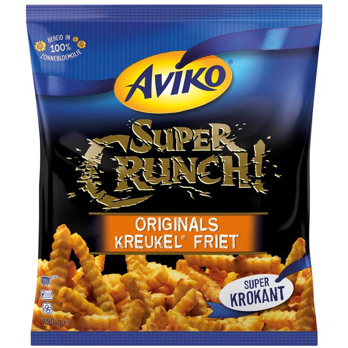 Aviko SuperCrunch originals kreukel friet