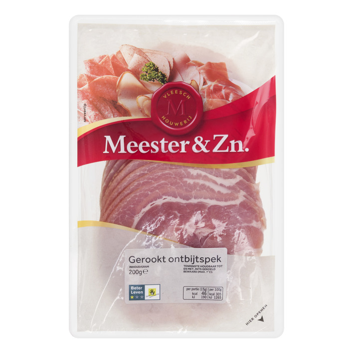 Meester&Zn Gerookt ontbijtspek