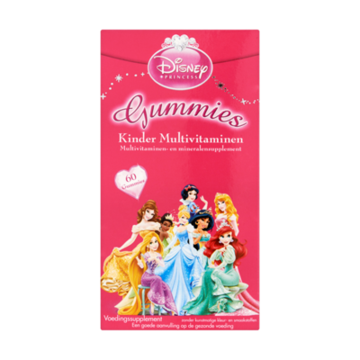 Disney Princess Kinder Multivitaminen 60 Stuks