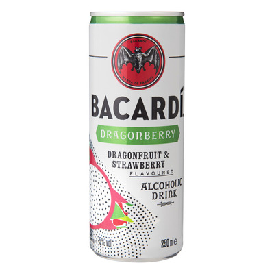 Bacardi Red dragon cocktail