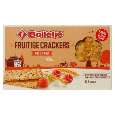 Bolletje Fruitige crackers rood fruit