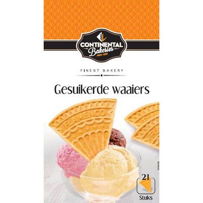 Continental Bakeries Gesuikerde waaiers