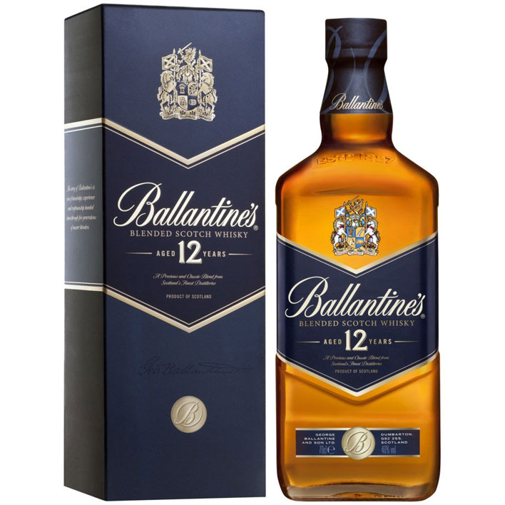 Ballantine's Blended Scotch whisky 12 years