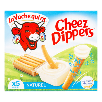 La Vache qui rit Cheez dippers naturel