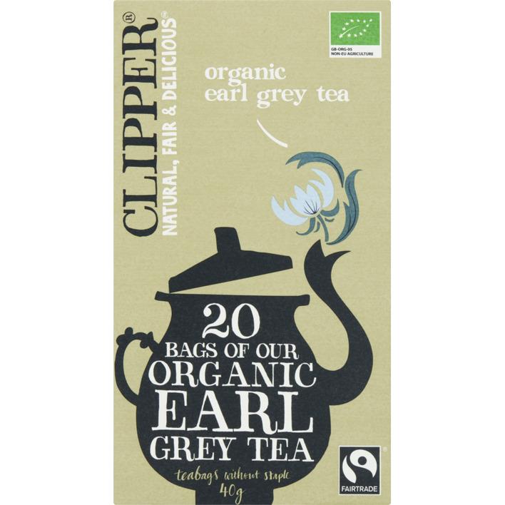 Clipper Organic earl grey tea 1-kops