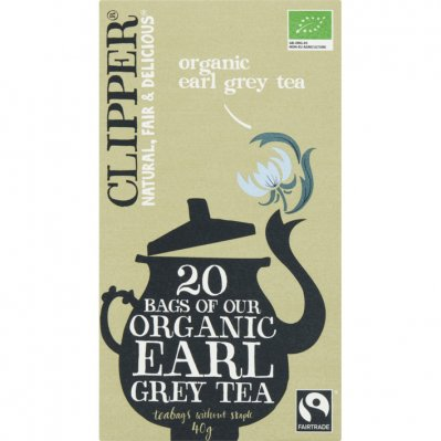 Clipper Organic earl grey tea 1-kops