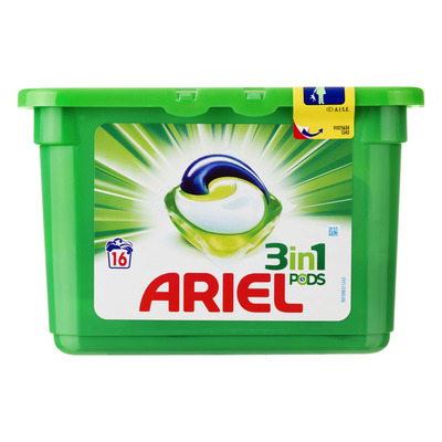 Ariel 3in1 Regular wasmiddel capsules