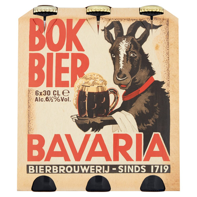 Bavaria Najaarsbok Fles Bok Bier 6 x 30 cl