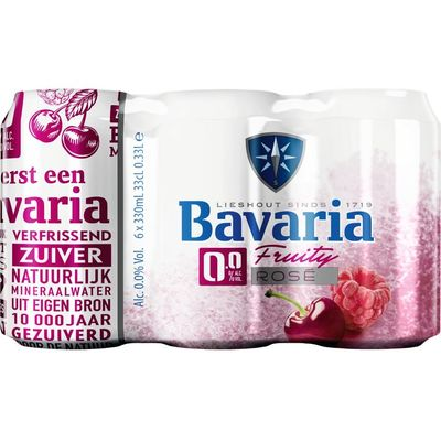 Bavaria 0.0% Fruity rose